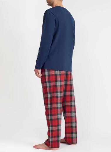 Katia & Bony Yılbaşı Erkek Pijama Takımı  Lacivert